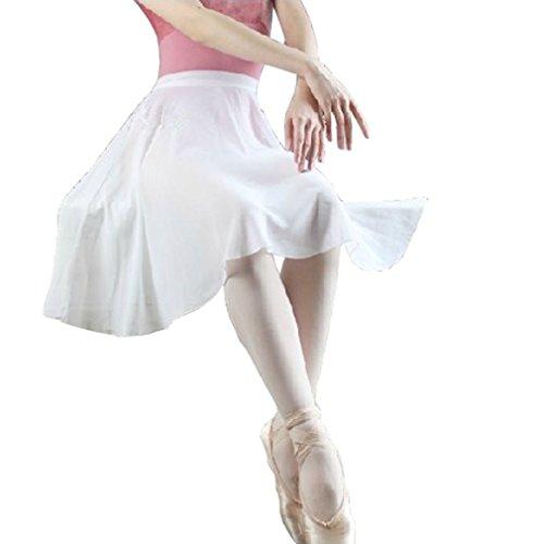 HOEREV adultes pure Wrap jupe, jupe Ballet Ballet danse Dancewear Noir