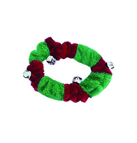 Doggy Things Plüsch Weihnachten Halsband mit Glöckchen