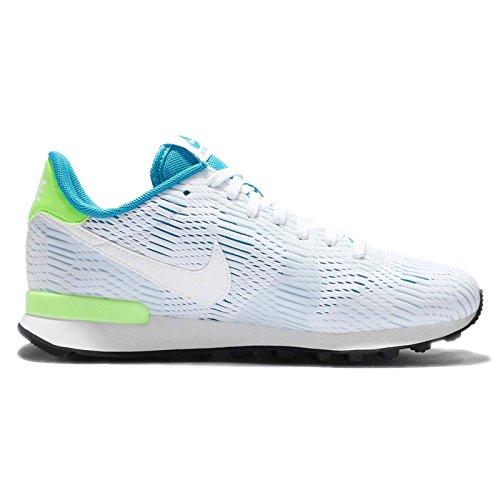 Nike Damen W Internationalist Em Turnschuhe Blanco (White / White-Bl Lagoon-Ghst Grn)