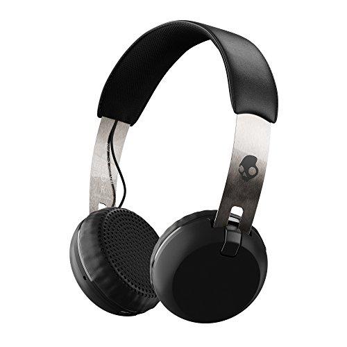 Skullcandy Grind Wireless, On-Ear Kopfhörer, Chrom
