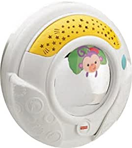 Mattel Fisher Price 3-in-1 Projection Soother, Multi Color