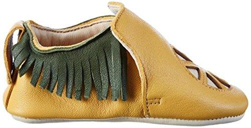 Easy Peasy - Blumoo Clementi, Scarpine e pantofole primi passi Unisex – Bimbi 0-24 Gelb (mangue/vert)