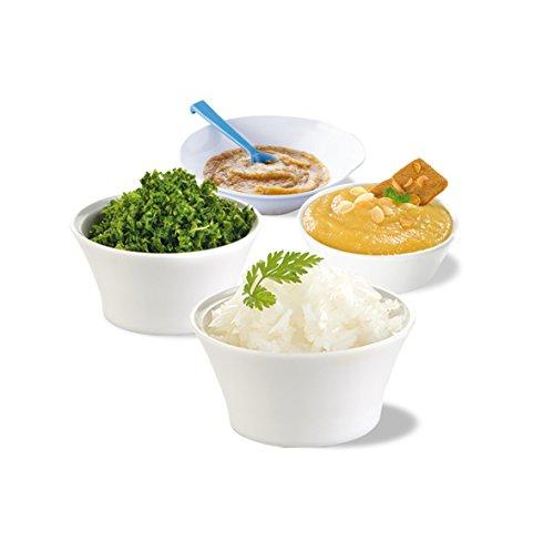Moulinex DJ3051 Picadora eléctrica de alimentos,  color blanco (0,25 L, Color blanco, 350 W)