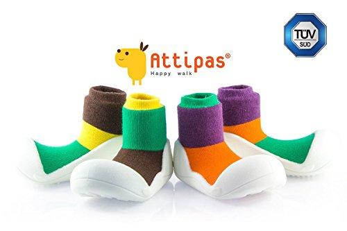 Attipas, Scarpe primi passi bambini Marrone marrone 21.5 EU lilla