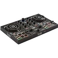 Hercules 4780882 DJCONTROL INPULSE 200 USB Ideal para Aprender a Mixer 2 Pistas con 8 Pads