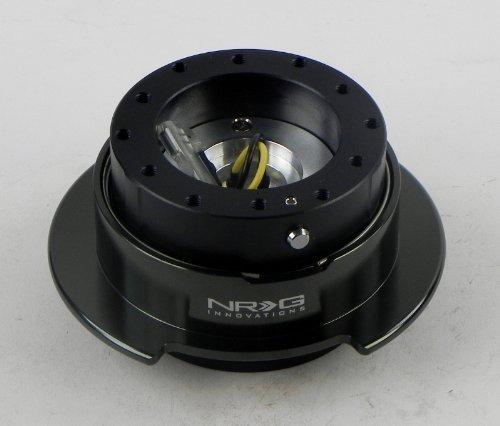 NRG Steering Wheel Quick Release Kit - Black / Chrome Gen 2.5 - Part # SRK-250BKC