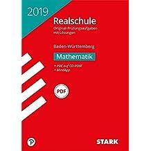 Abschlussprüfung Realschule Baden-Württemberg - Mathematik, mit CD-ROM