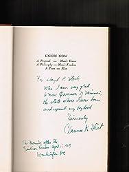 Clarence K. Streit's Union now;