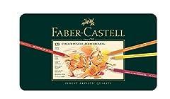 Idea Regalo - Faber-Castell Polychromos Matite colorate, custodia con 120 matite