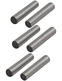 Tradico® Carbon Steel GB117 20mm Length 4mm Small End Diameter Taper Pin 6pcs