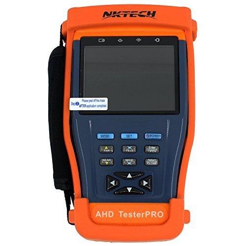 'nktech ST893Plus mit AHD 1080P 8,9cm LCD Monitor CCTV Kamera Video PTZ RS485UTP Tester Meter für Installation und Wartung vor Ort der Video Überwachung