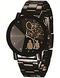 SKYLOFTS Analogue Black Dial Girl's & Women's Watch - Hg5
