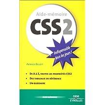 Aide-mémoire CSS2