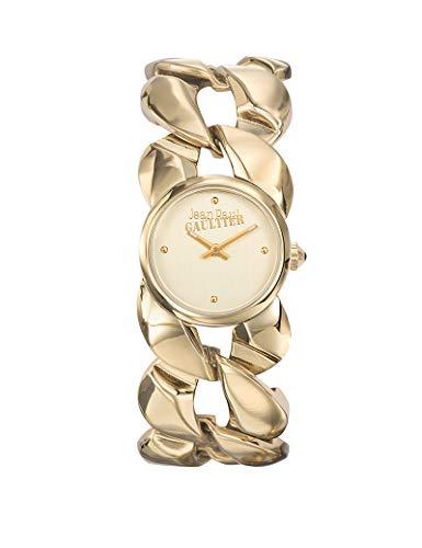 Orologio Jean-Paul Gaultier in acciaio da donna dorato