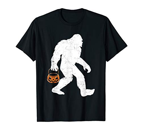 Halloween Kostüm Bigfoot - Bigfoot Kürbis Halloween Kostüm Lustige Hemd