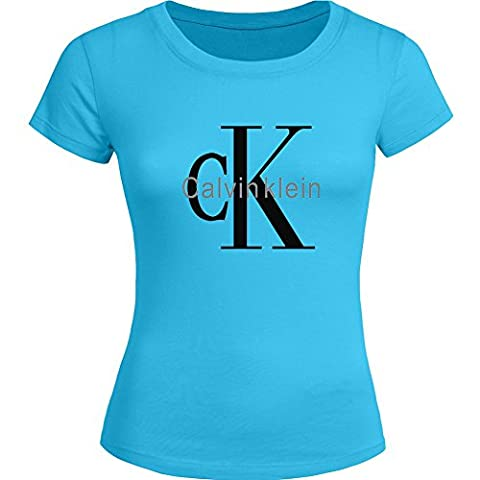 Calvin Klein CK Printed For Ladies Womens T-shirt Tee Outlet