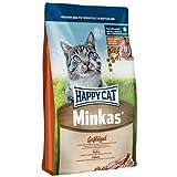 Happy Cat Katzenfutter Minkas mit Geflügel 10 kg
