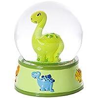 Kleine Dinosaurier Schneekugel für Jungen