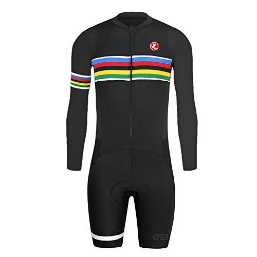 Uglyfrog Bike Wear 2018-2019 Radsport Bekleidung Skinsuit-Kurze/Lange Ärmel Fahrrad Trikots & Shirts/Jersey+Short Legs Dehnbar Stoff -Einzelstück -