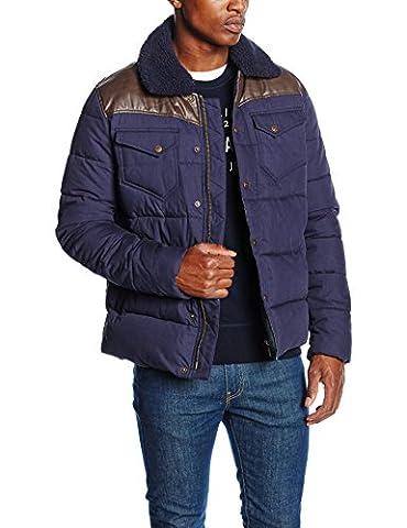 Kaporal Booky, Blouson Homme^Homme, Bleu (Navy), XX-Large (Taille Fabricant: XXL)