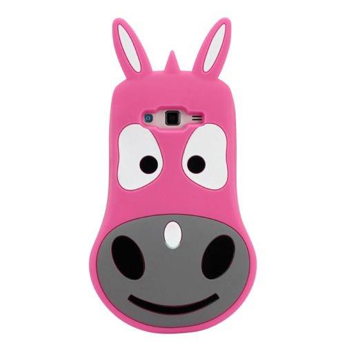 Back Case 3D âne/Animaux Rose Coque de protection pour Apple iPhone 64,7Case Étui de protection