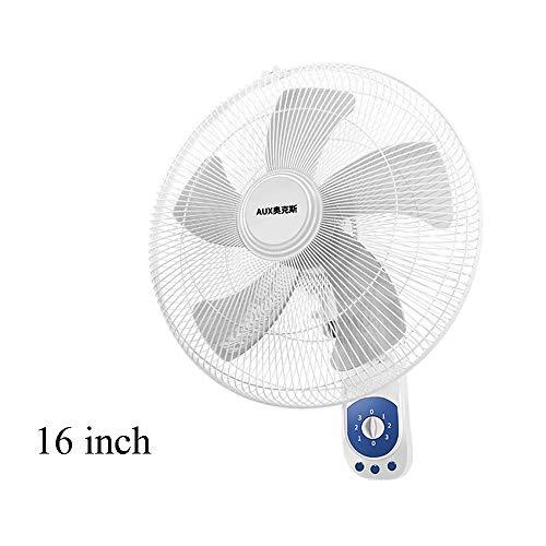 Ventilador eléctrico Montado En La Pared, Ventilador De Aire del Refrigerador De Verano MecáNico Oscilante/Giratorio...