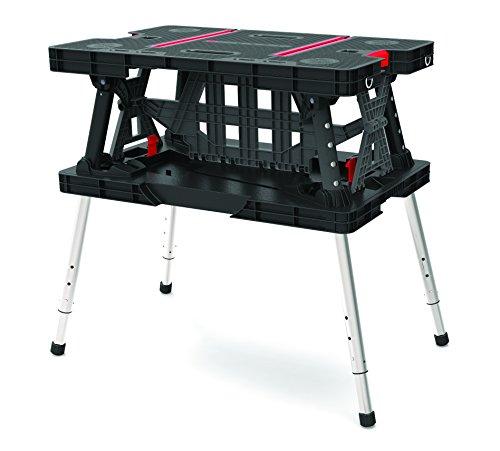 Keter Work Table Ex Arbeitstisch Zusammenklappbar Werkzeugbank Kunststoff