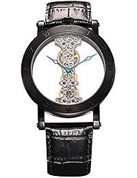 Burgmeister Armbanduhr für Herren mit Analog Anzeige, Handaufzug-Uhr und Lederarmband - Wasserdichte Herrenuhr mit zeitlosem, schickem Design - klassische Uhr für Männer - BM331-602A Tulsa