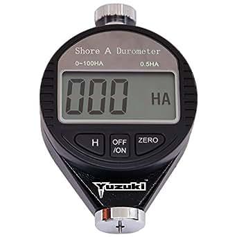YUZUKI Electronic Digital Rubber Hardness Tester Shore A Durometer