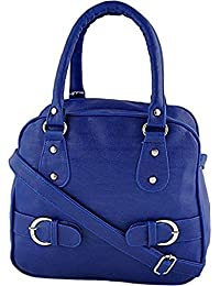 Tip Top Fashion Women Handbags With Beautiful Blue Color New Model (C-18)