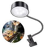 LeiDrail LED Solar Grill Licht BBQ Flexibel Grilllampe 360 Grad Einstellbar Outdoor Grilllicht LED Batterie für Camping Fischen Kochen BBQ Zubehör Werkzeuge Set