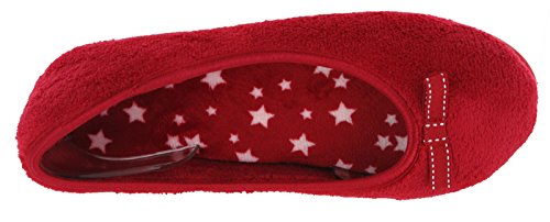 BHS  Ballerina - Stars, Ballerines plates femme red