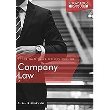 Company Law Knowledge Capsule book by CS Saheb Dumbwani