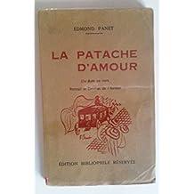 Edmond Panet. La Patache d'amour : 1 acte en vers. Portrait et dessins de l'auteur