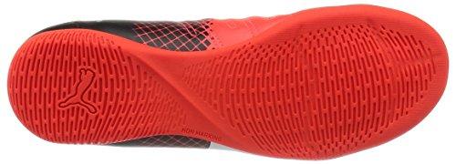 Puma Unisex-Kinder Evopower 4.3 Tricks It Jr Fußballschuhe Rot (Red blast-puma white-puma Black 03)