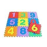 Riklos Kinder Baby Soft Foam Spielmatte Puzzle Tiere Fahrzeuge Anzahl Krabbeln Mat Fingerboards, Mini-BMX & Zubehör