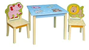 Animals table and chairs