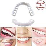 5 pares de dientes Brackets superiores + Brackets inferiores Comfort Fit Flex Dientes cosméticos Prótesis de dientes Snap instantáneo y seguro en sonrisa