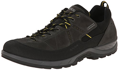 Ecco ECCO YURA MEN'S, Chaussures de Fitness homme Gris - Grau (BLACK/DARK SHADOW)