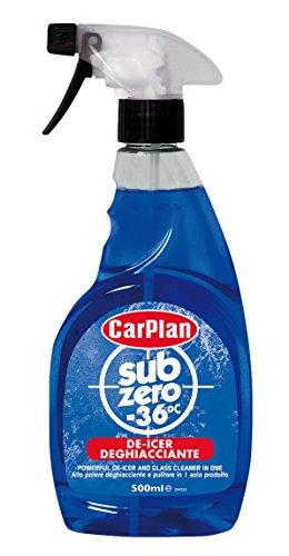 CarPlan LSZ500 Deghiacciante Nebulizzatore Sub Zero -36°C, 500 m