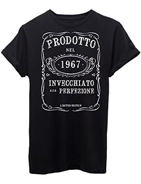 T-Shirt COMPLEANNO 1967 CERCA L'ANNO DI NASCITA BIRTHDAY - EVENTI - by iMage