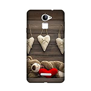 Yashas High Quality Designer Printed Case & Cover for Coolpad Note 3 Lite (Teddy Bear)