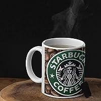 كوب سيراميك للشاي والقهوه تصميم قهوه كوفي ستاربكس