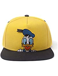 ae5e74ed Disney Donald Duck Snapback Baseball Cap, Multi-Colour (SB406837DON)  Multicolour, One