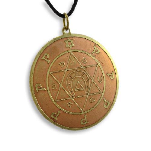 Talisman aus Messing/Kupfer, Schlüssel des Salomon, Glücksbringer