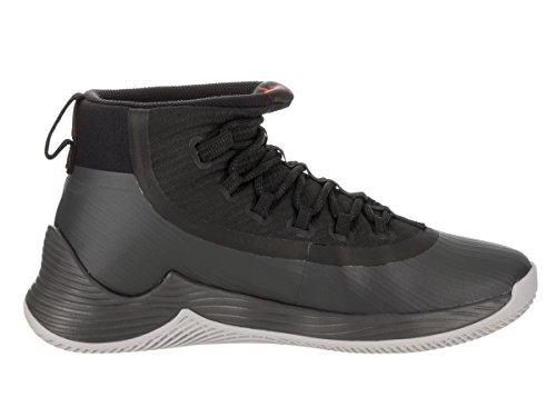 Nike Jordan Ultra Fly 2, Scarpe da Basket Uomo black-university red-anthracite (897998-002)