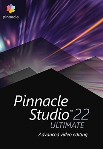 Pinnacle Studio 22 | Ultimate | PC | PC Aktivierungscode per Email (Corel Studio Ultimate Video)