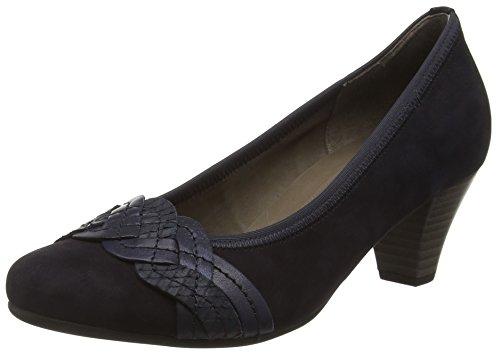 Gabor Shoes 45.487, Scarpe col Tacco Donna Multicolore (16 pazifik/ocean/blue)