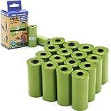 BPS 240/255 Bolsas de Caca Biodegradables para Perro, Bolsas para excrementos de Perro Mascotas Animales Domésticos (240 Bolsas Sin Dispensador) BPS-5397 * 2