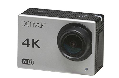 Denver Electronics ACK-8060W, Camara de Acción 4K (Interpolada), Gris